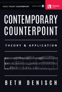 "The cover of the ""Contemporary Counterpoint"" book by Beth Denisch."